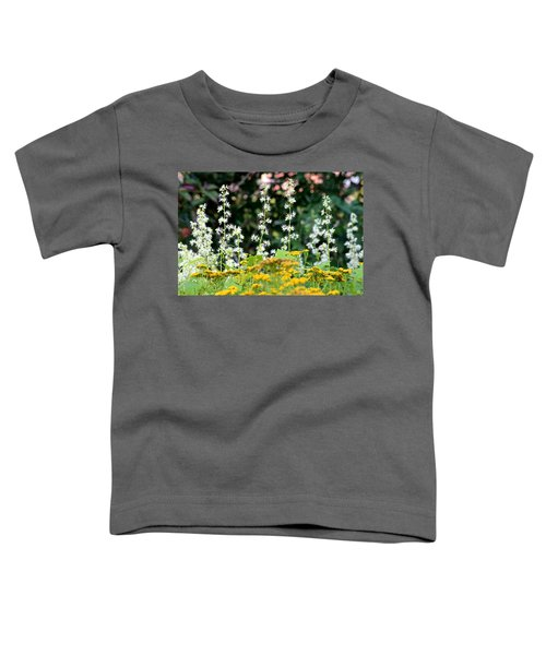 Flowers Sparkling Above The Tansies Toddler T-Shirt