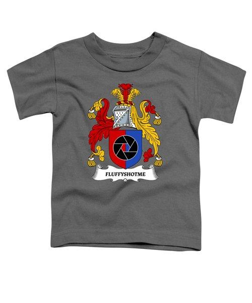 Fluffyshotme Logo Toddler T-Shirt