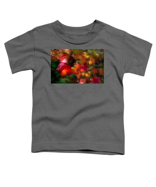 Toddler T-Shirt featuring the photograph Flury by Doug Gibbons