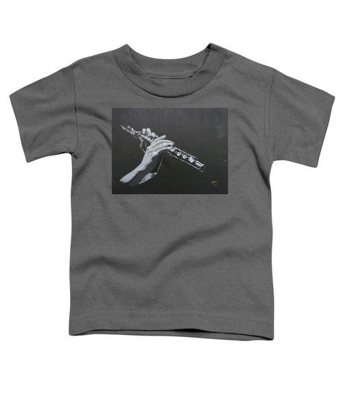 Flute Hands Toddler T-Shirt