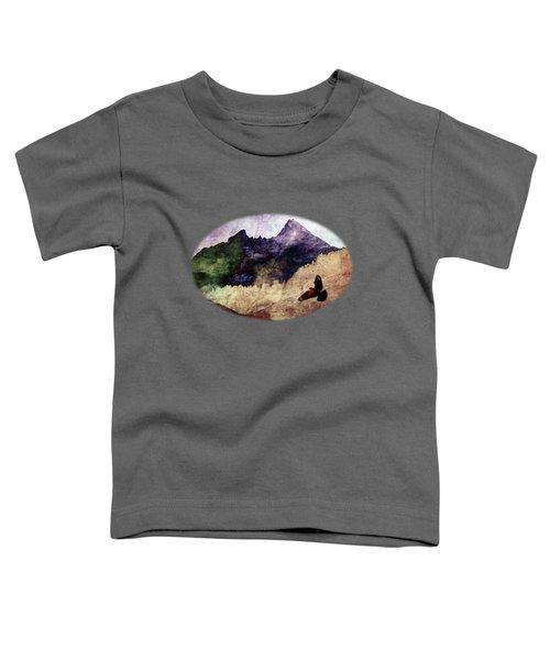 Fly High Toddler T-Shirt by AugenWerk Susann Serfezi