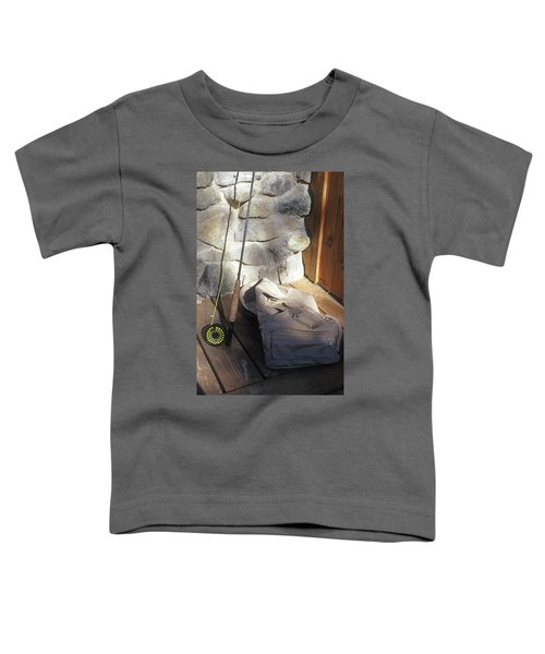 Fly Rod And Vest Toddler T-Shirt