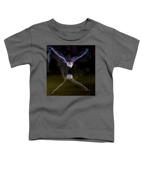 Flying Bat With Reflection Toddler T-Shirt