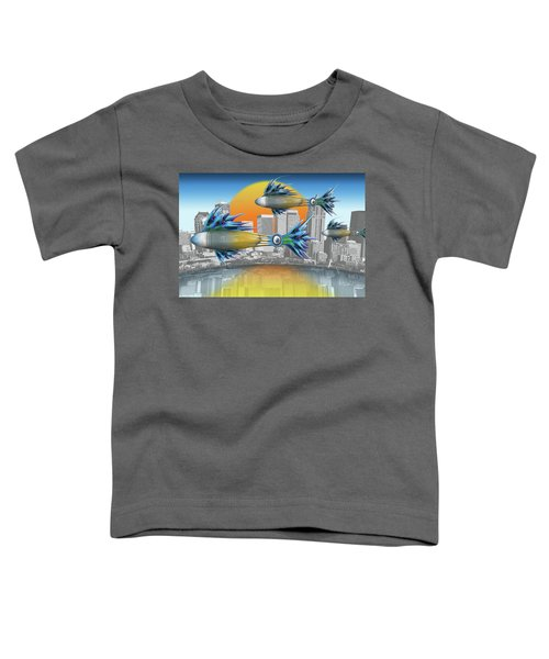 Flying Fisque  Toddler T-Shirt