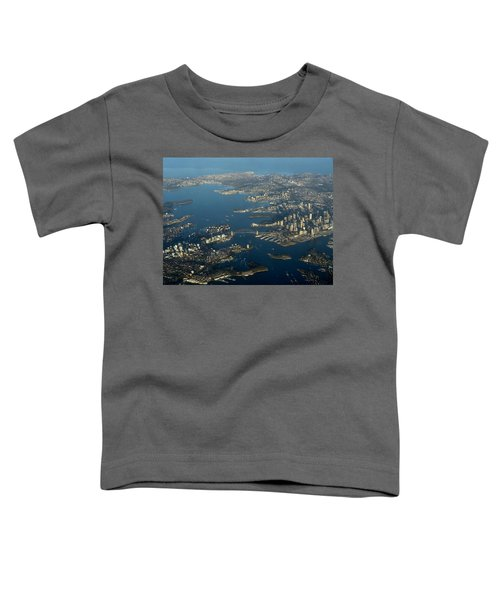 Flying Into Sydney Toddler T-Shirt