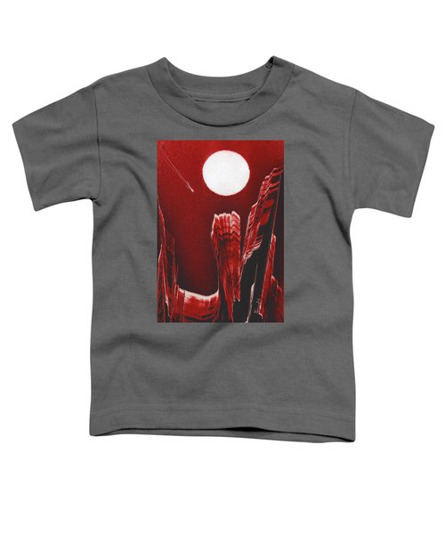 Flying Over Fuchsia Toddler T-Shirt