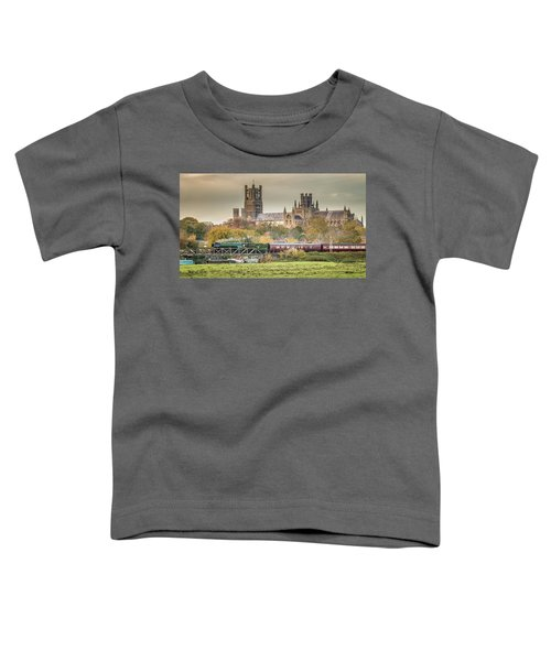 Flying Scotsman At Ely Toddler T-Shirt