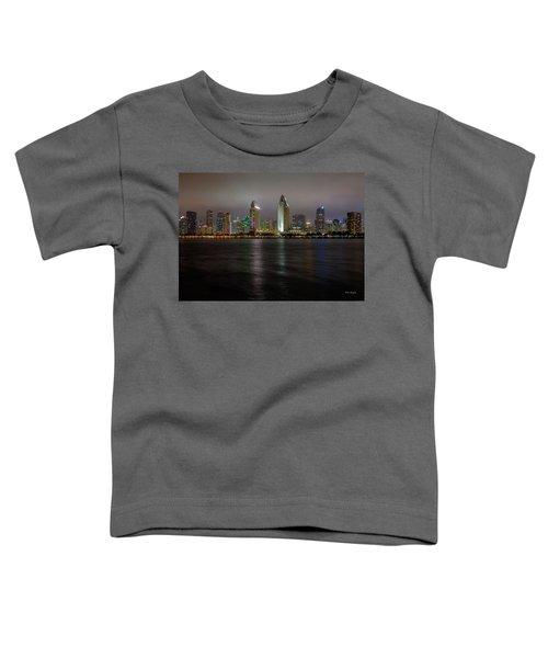 Fog Glow Over San Diego Toddler T-Shirt