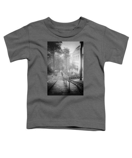 Fog In Montmartre Toddler T-Shirt