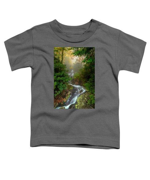 Foggy Autumn Cascades Toddler T-Shirt