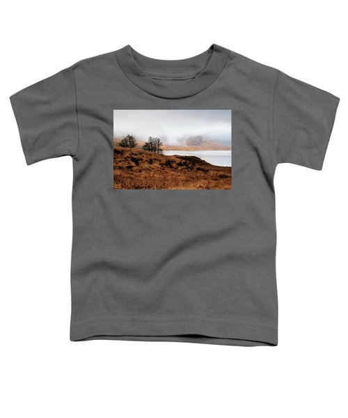 Foggy Day At Loch Arklet Toddler T-Shirt by Jeremy Lavender Photography