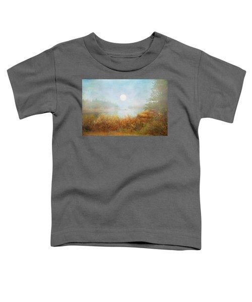 Foggy Sunrise  Toddler T-Shirt
