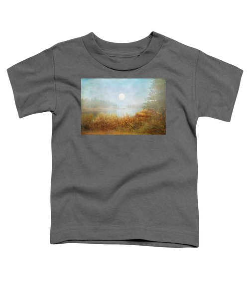 Foggy Sunrise  Toddler T-Shirt