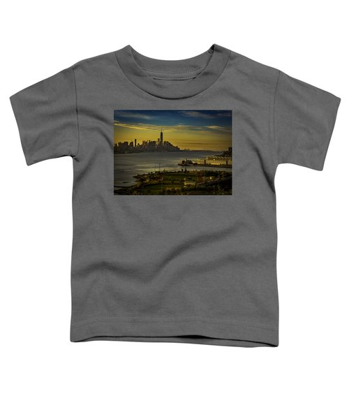 Football Field With A View Toddler T-Shirt