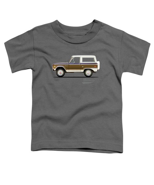 Ford Bronco Ranger 1976 Toddler T-Shirt