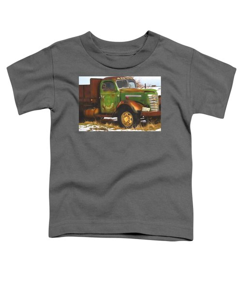 Ford Farm Truck Painterly Impressions Toddler T-Shirt