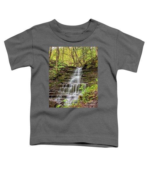 Forest Cascade Toddler T-Shirt