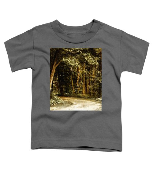 Forest Curve Toddler T-Shirt