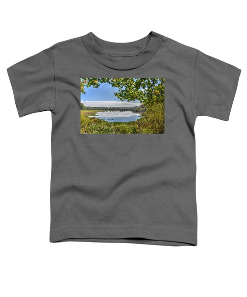 Forest Lake Through The Trees Toddler T-Shirt