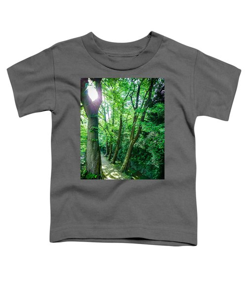 Forest Path Toddler T-Shirt