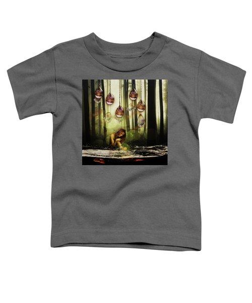 Forest Rain Fantasy Toddler T-Shirt