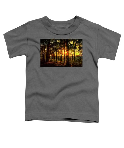 Forest Sunset Toddler T-Shirt