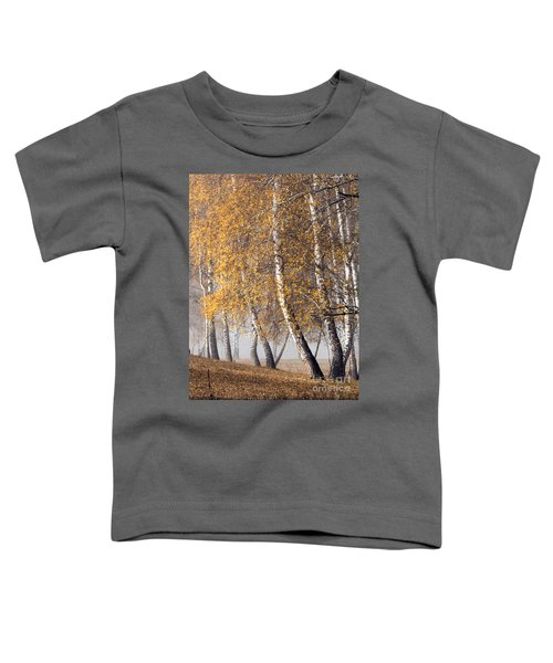 Forest With Birches In The Autumn Toddler T-Shirt
