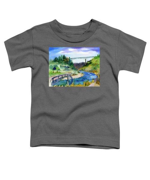 Foresthill Bridge #2 Toddler T-Shirt