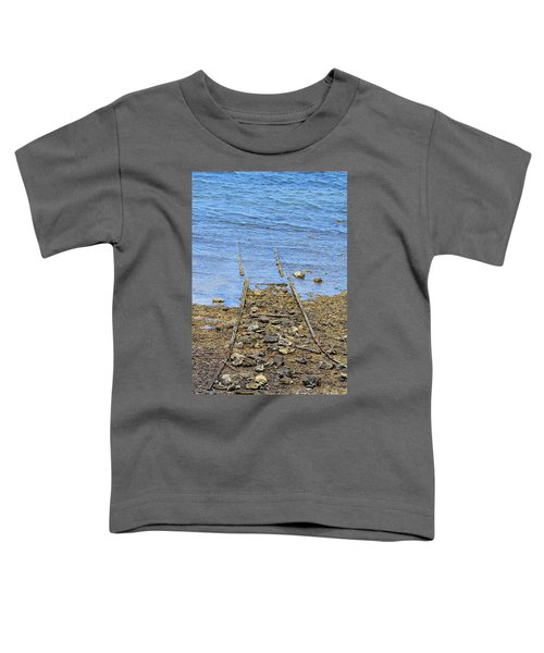 Toddler T-Shirt featuring the photograph Forgotten Line by Stephen Mitchell