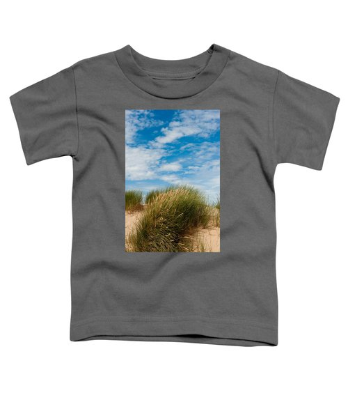Formby Sand Dunes And Sky Toddler T-Shirt