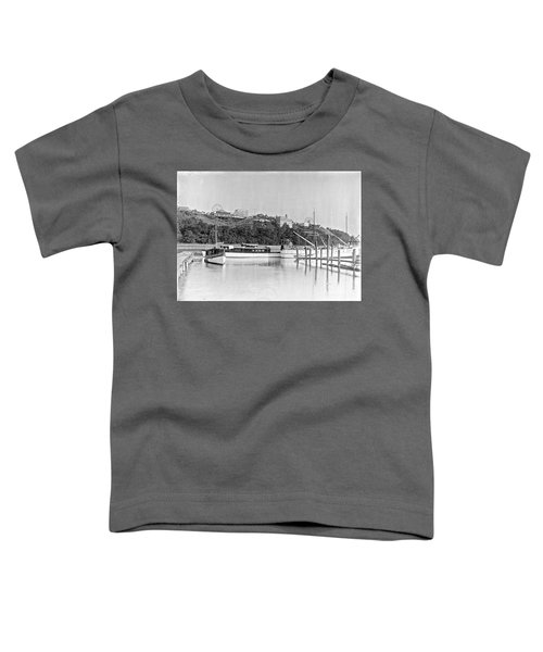 Fort George Amusement Park Toddler T-Shirt by Cole Thompson