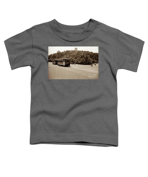 Fort Tryon Trolley Toddler T-Shirt