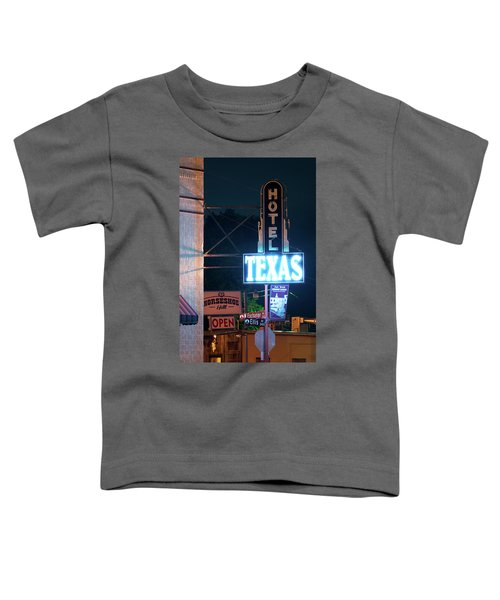 Fort Worth Hotel Texas 6616 Toddler T-Shirt