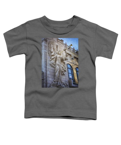 Fort Worth Impressions Bass Hall Angel Toddler T-Shirt