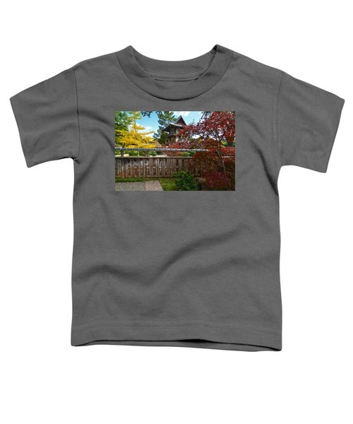 Fort Worth Japanese Gardens 2771a Toddler T-Shirt