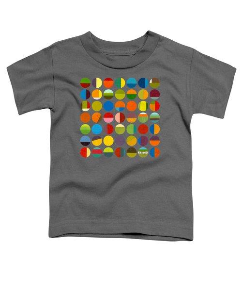 Forty Nine Circles Toddler T-Shirt