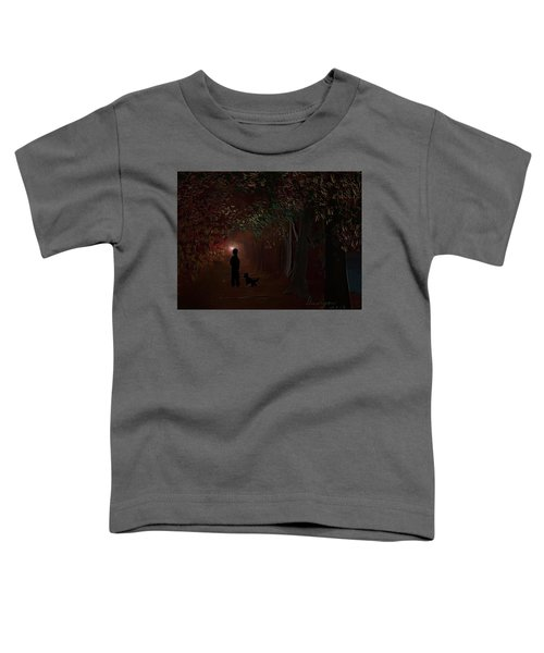 Toddler T-Shirt featuring the digital art Found by Gerry Morgan