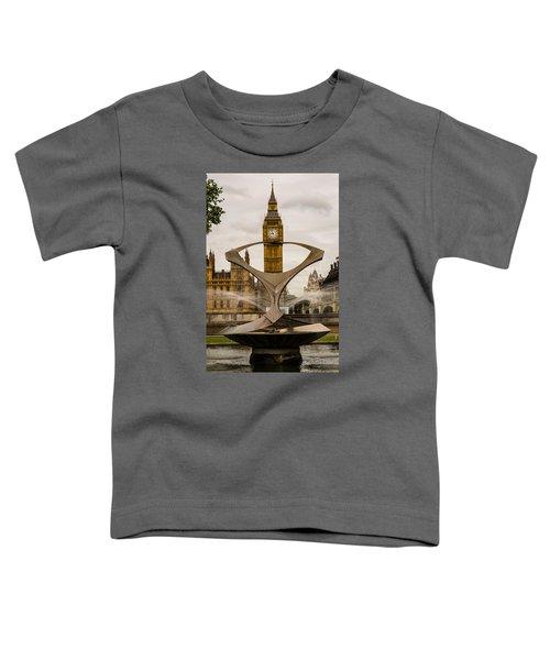 Fountain With Big Ben Toddler T-Shirt