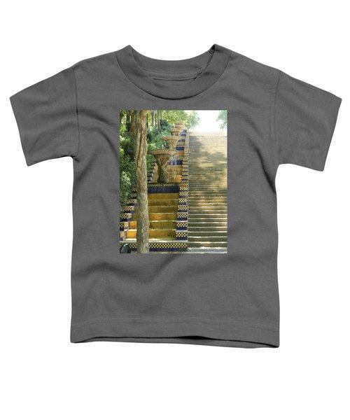 Fountains At Montjuic Toddler T-Shirt