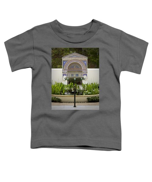 Fountains At The Getty Villa Toddler T-Shirt