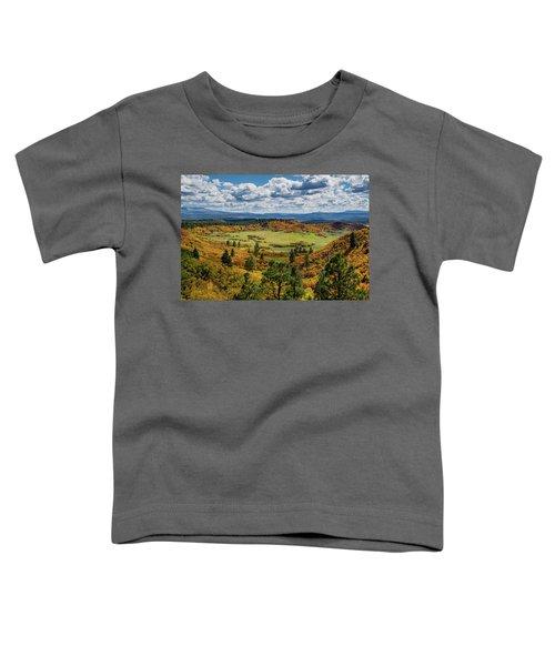 Four Mile Road Peak Color Toddler T-Shirt
