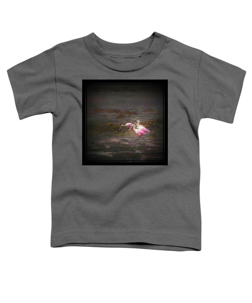 Four Spoons On The Marsh Toddler T-Shirt by Marvin Spates