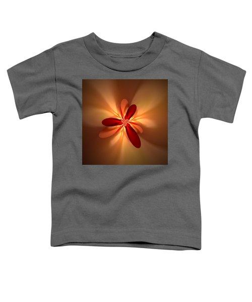 Toddler T-Shirt featuring the digital art Fractal 4 by Gerry Morgan