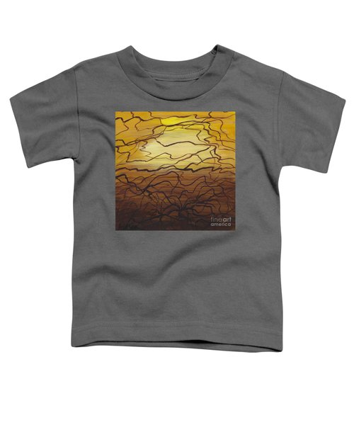 Fractured  Toddler T-Shirt