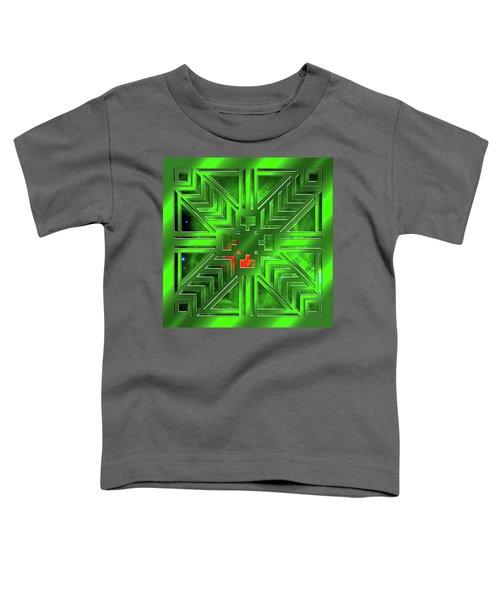 Frank Lloyd Wright Design Toddler T-Shirt