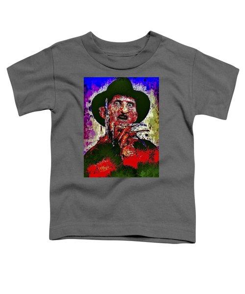 Freddy Krueger Toddler T-Shirt