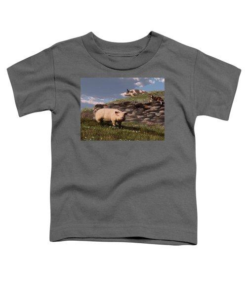 Free Range Pigs Toddler T-Shirt