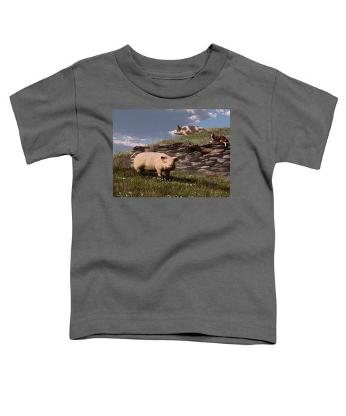 Free Range Pigs Toddler T-Shirt