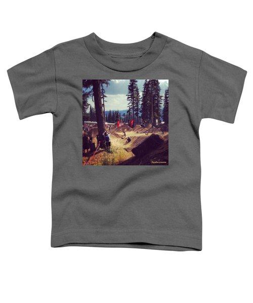 Freestyling Mtb Toddler T-Shirt