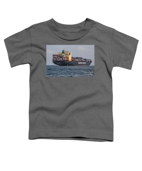 Freighter Headed Out To Sea Toddler T-Shirt
